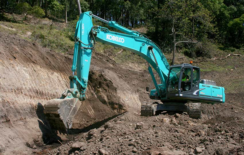 An example of a plant hire in Hunter Valley