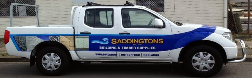 UTE Saddingtons Building & Timber Supplies