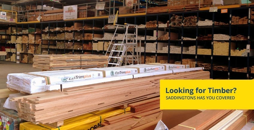 Looking for Timber in Newcastle? Saddingtons has you Covered