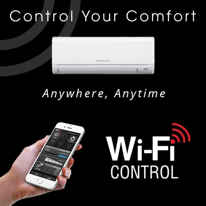 Mitsubishi Electric WIFI air conditioning control