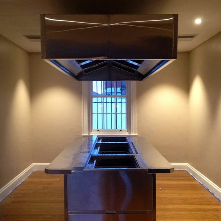 Stainless Steel Exhaust Fan System
