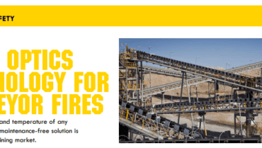 Advanced Photonics Australia featured on AMSJ publication for conveyor fire technology