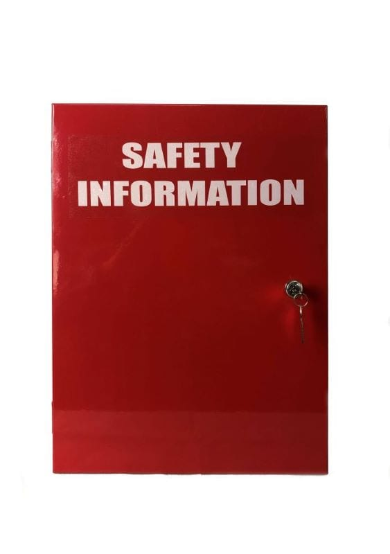 safety information cabinet