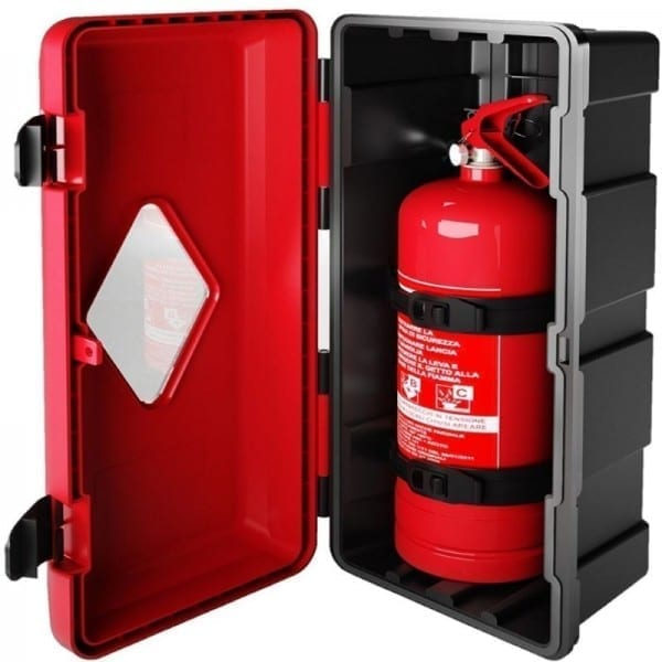 polyethylene fire extinguisher cabinet ip59k rated