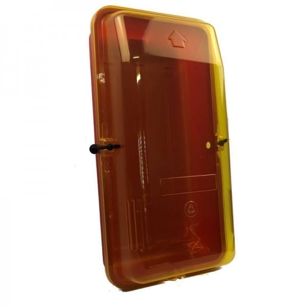 clear front fire extinguisher cabinet