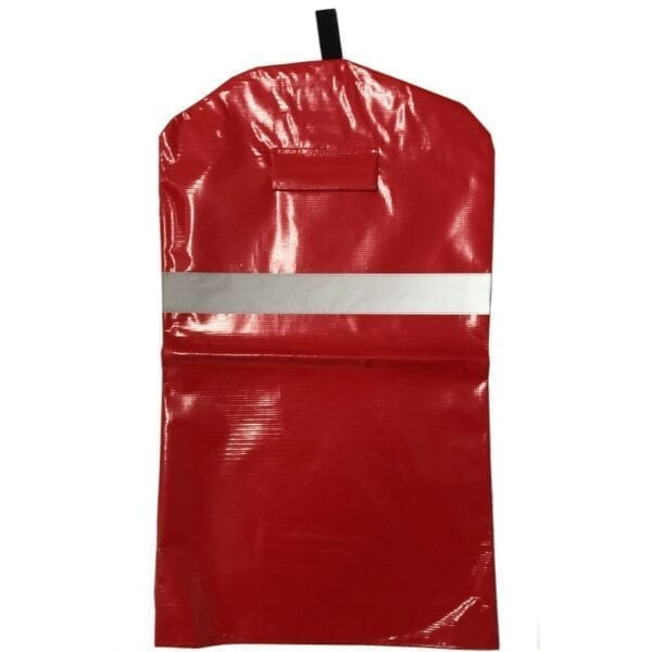 Heavy duty fire extinguisher cover