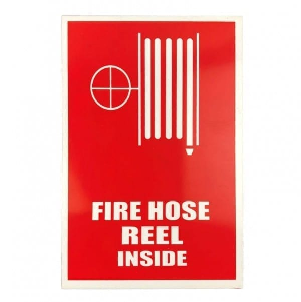 fire hose reel inside sign