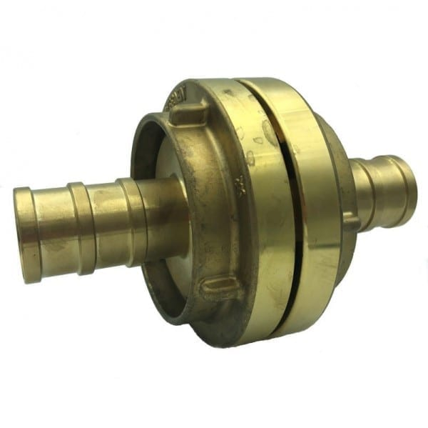 65mm Storz hose coupling with 38mm hose tail