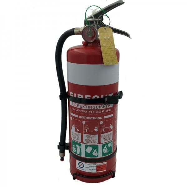 2.5kg Dry Chemical Powder Fire Extinguisher