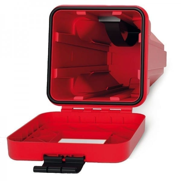 polyethylene side top load fire extinguisher box ip59k rated