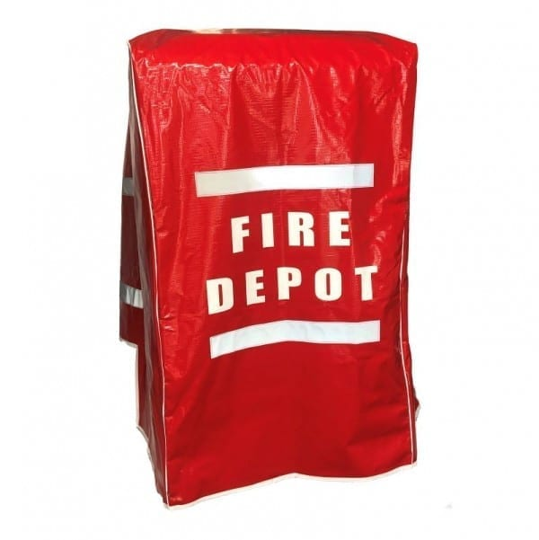 mines fire fighting depot box cover