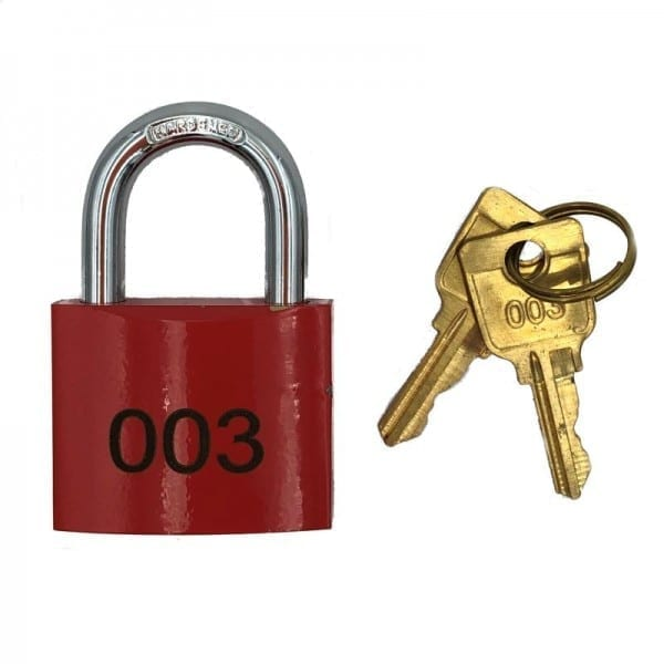 fire services 003 pad lock