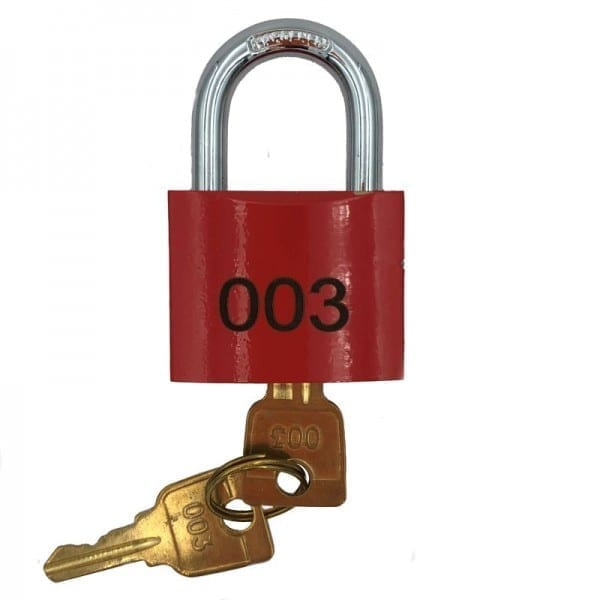 003 fire services padlock