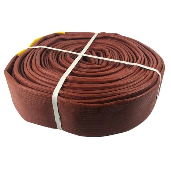 EXTRUDED RUBBER FIRE HOSE