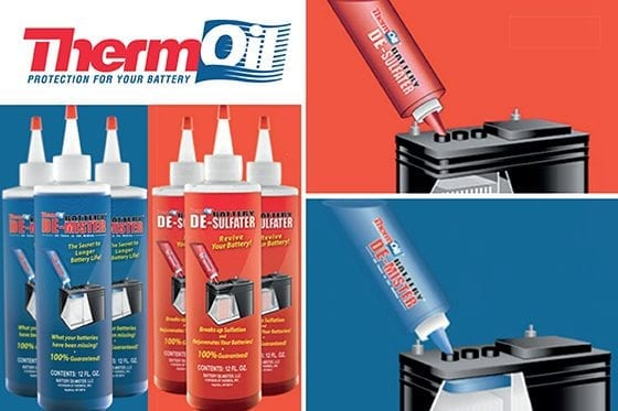Thermoil Battery De-Mister has Nifty as distributor for Australia