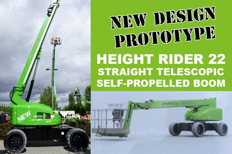 Height Rider 22 prototype