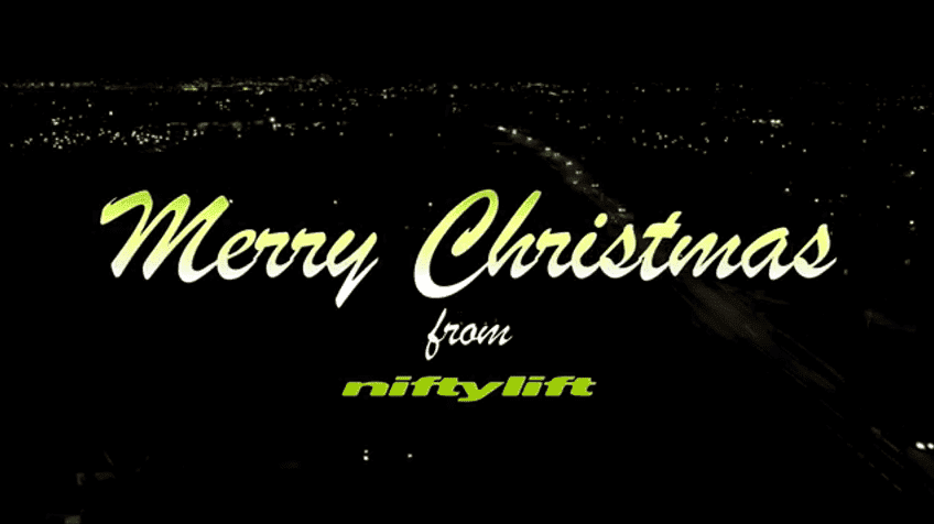 merry xmas from niftylift
