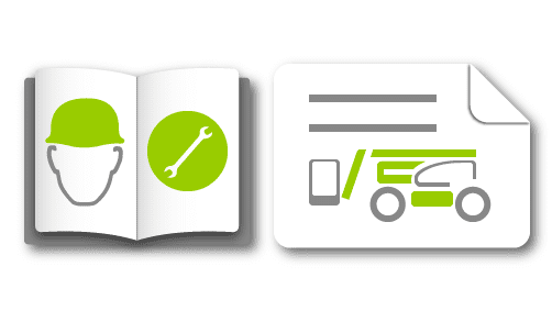 manuals drawings icon