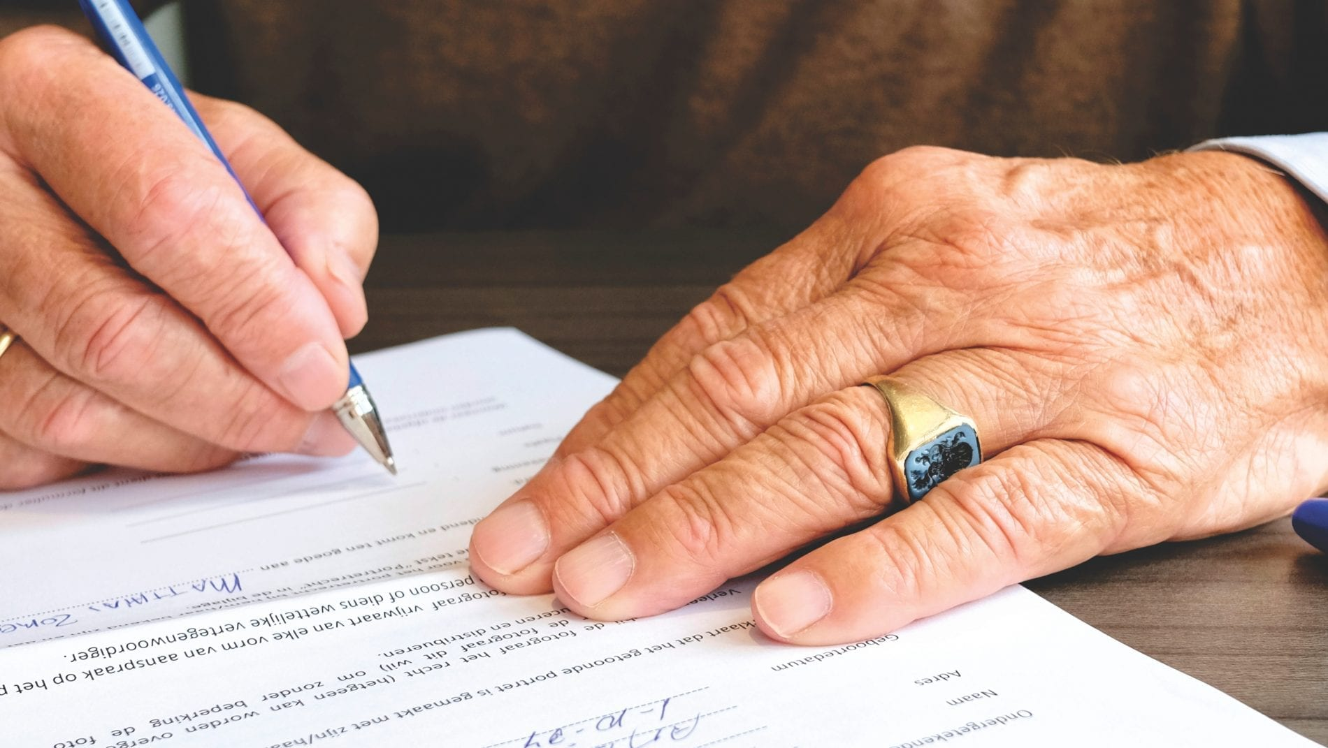What happens if you pass away without a valid will