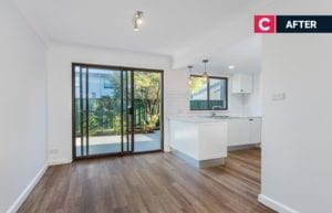 improve your property's value after picture