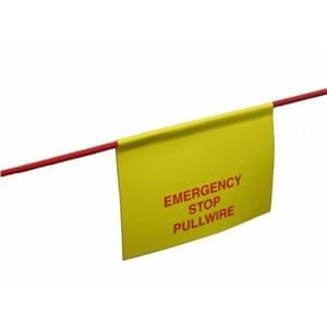 Emergency Stop Pullwire Label