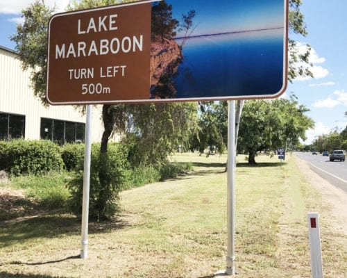 Frangible Pole and Restraint Device in Lake Maraboon in QLD