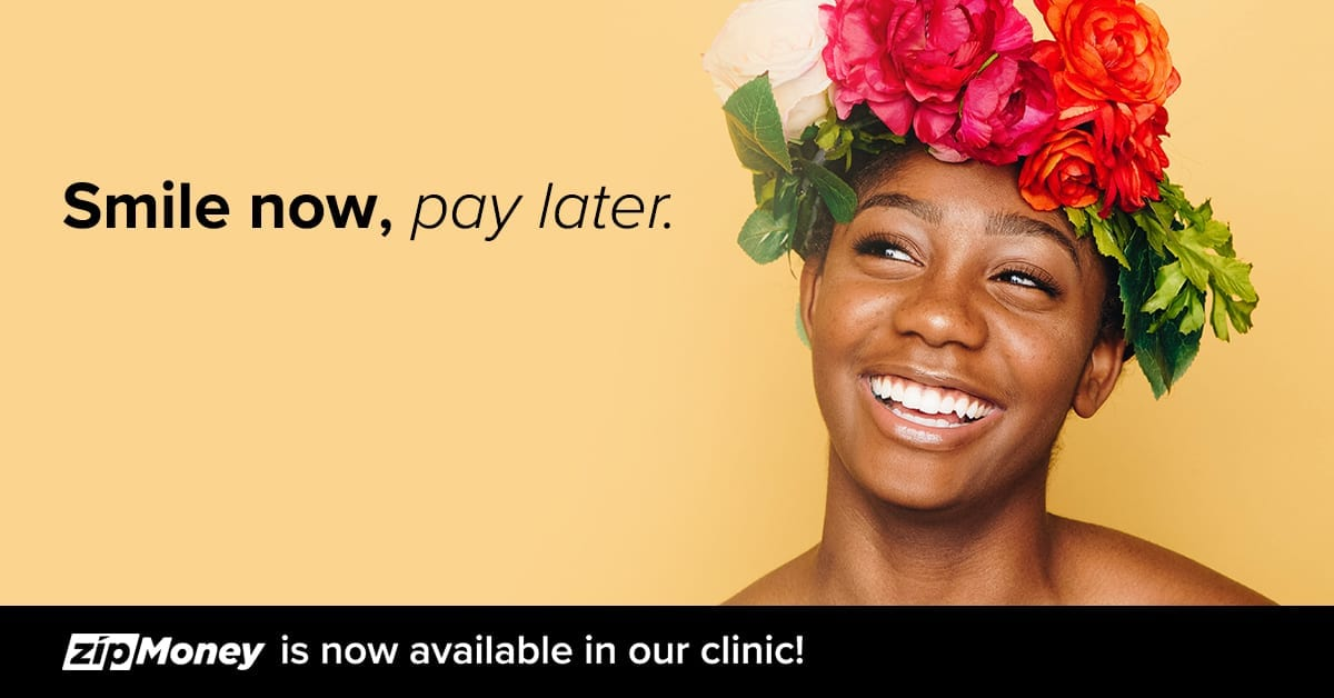Interest free payment options now available