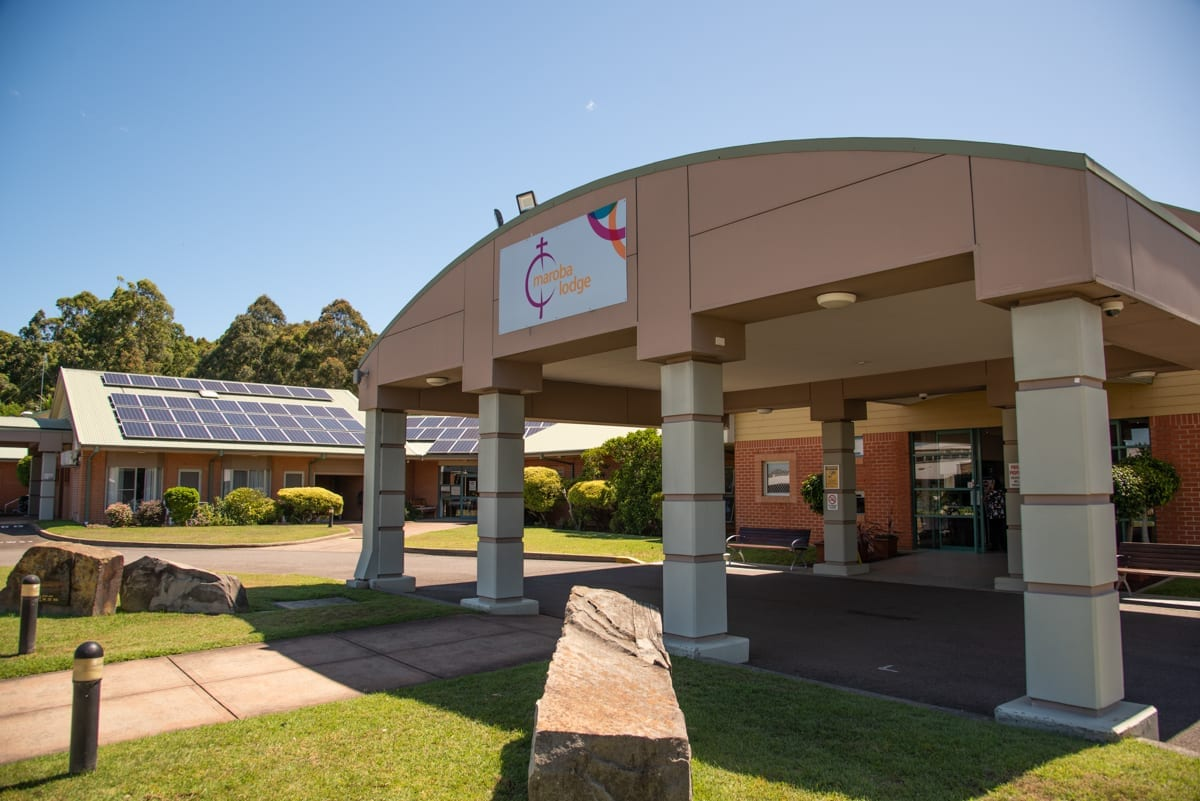 Front of The Lodge, Maroba Aged Care