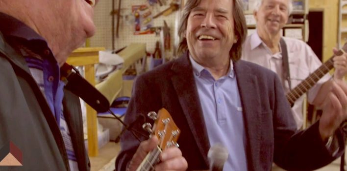 Media release: John Paul Young releases Men's Shed music video