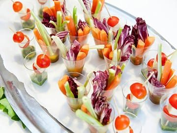 Appetisers Caterforce wedding Maitland