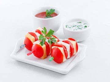 Tomato & Boccocini Skewers Casual catering Caterforce East maitland