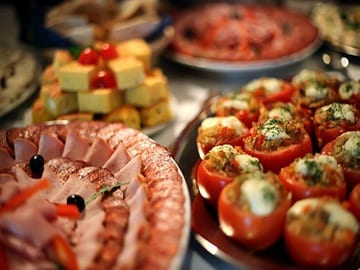 Finger food Caterforce Redhead Wedding Catering