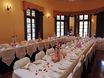 Tomago house wedding set up caterforce