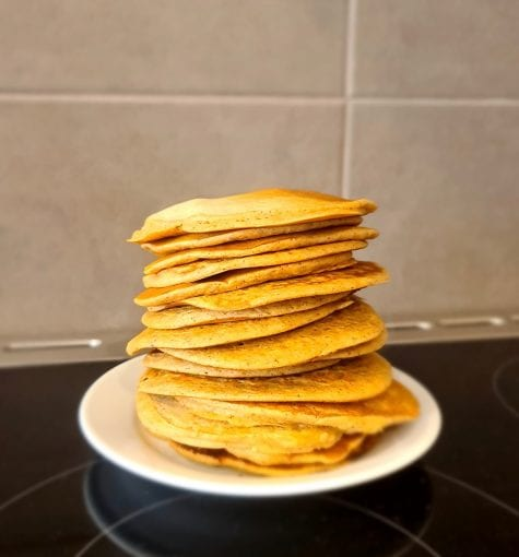 wholemeal pikelets
