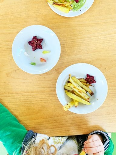Learning bowl sustainable play child care meal times preschool