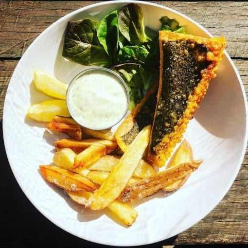 Tofish and chips - Sustainable Seafood