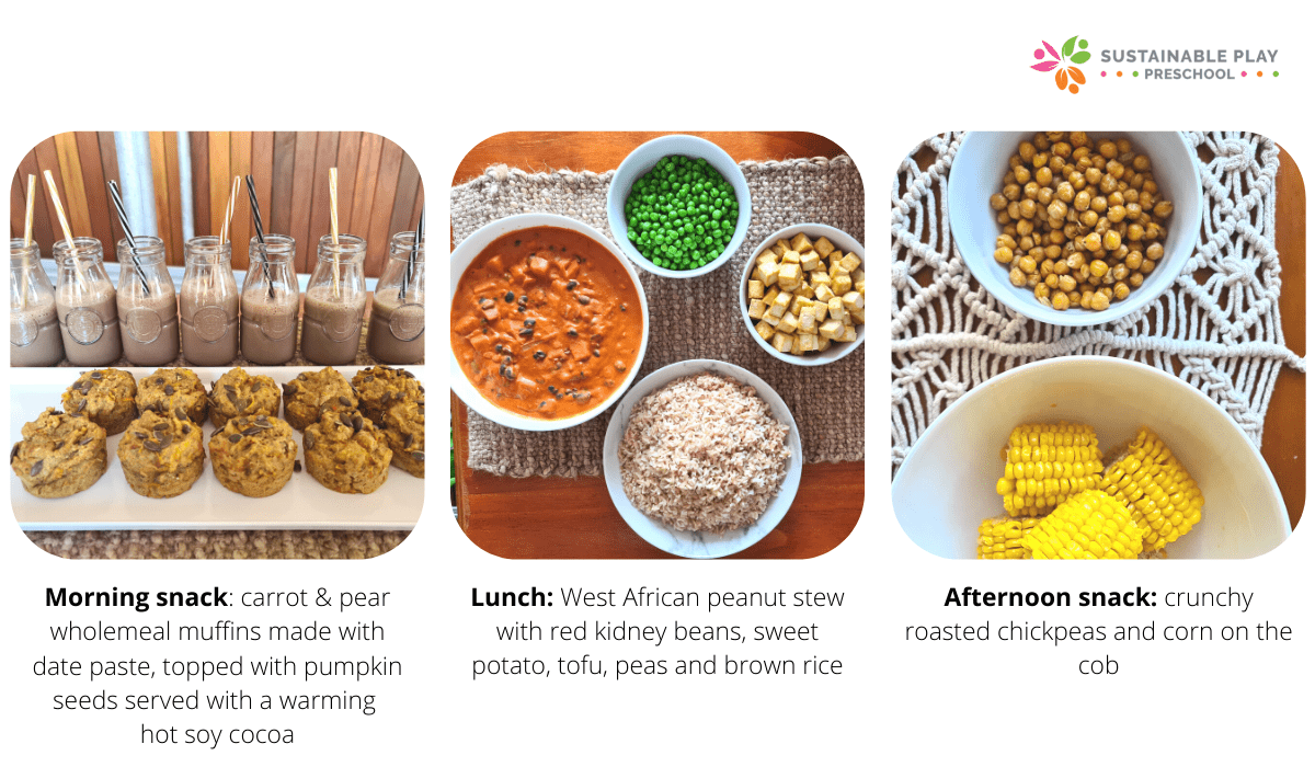 plant based protein and calcium