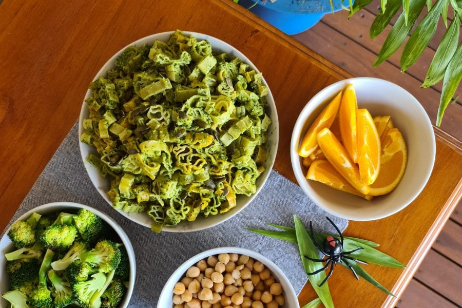 protein rich plant based food for kids