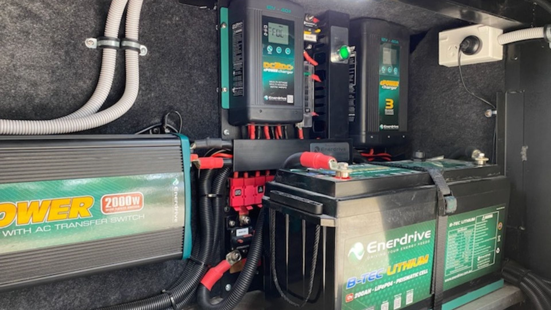 All new Enerdrive battery system
