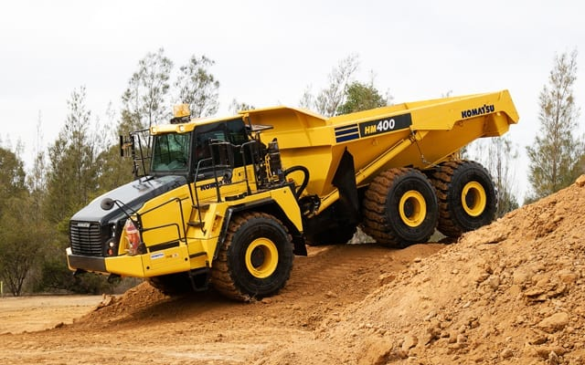 Articulated Haul Truck