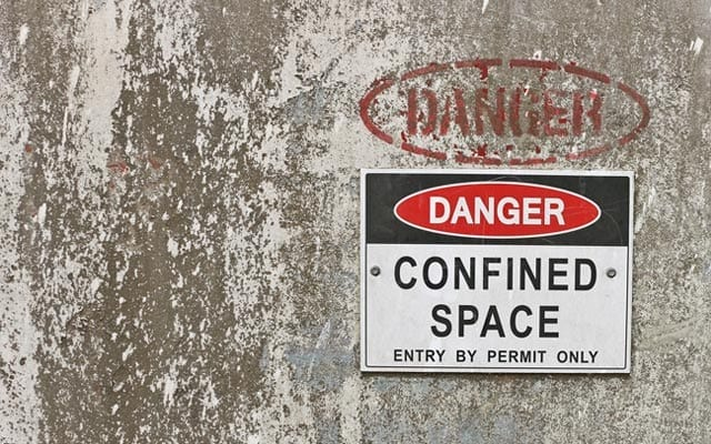 Working Safely in a Confined Space