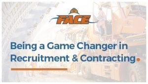 Being a Game Changer in Recruitment and Contracting