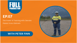 EP.07 The Power of Training with Damien Palazzi from Sitetrain
