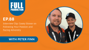EP.88 Interview Clip: Casey Stoner on Following Your Passion and Facing Adversity