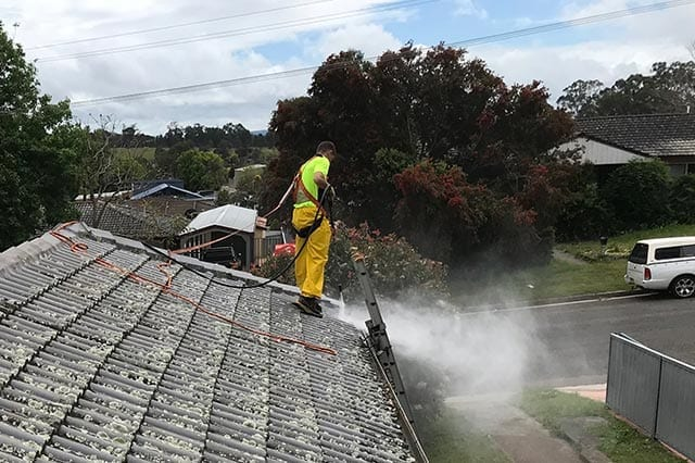 roof cleaning newcastle