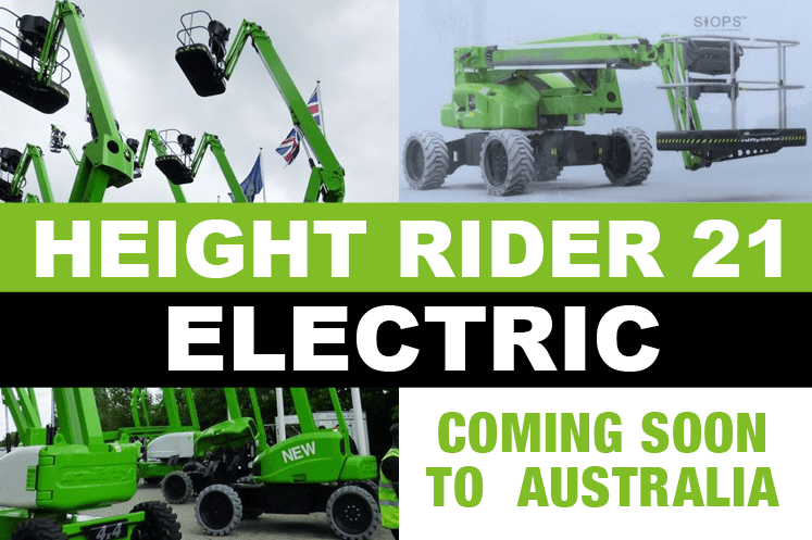 Electric Height Rider 21 - coming soon