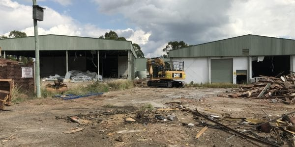 Industrial Site Clearing and Strip-Out