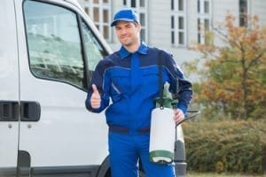 Man thumbs up — Pest Control in Winnellie, NT