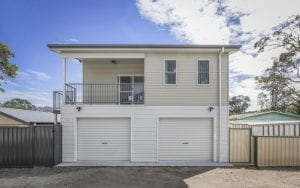 Central coast two storey granny flat