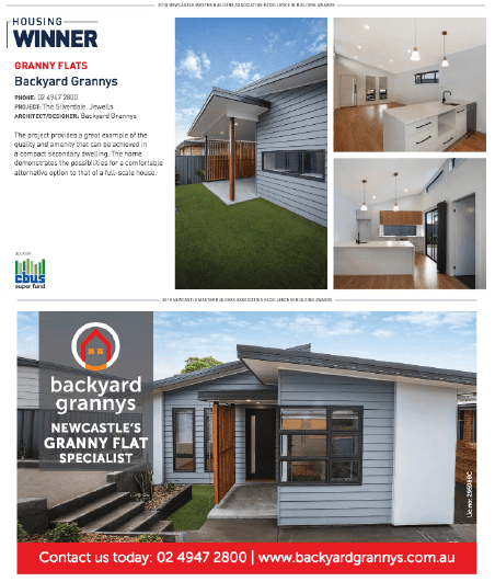 Master Builders Association Granny Flat of the Year
